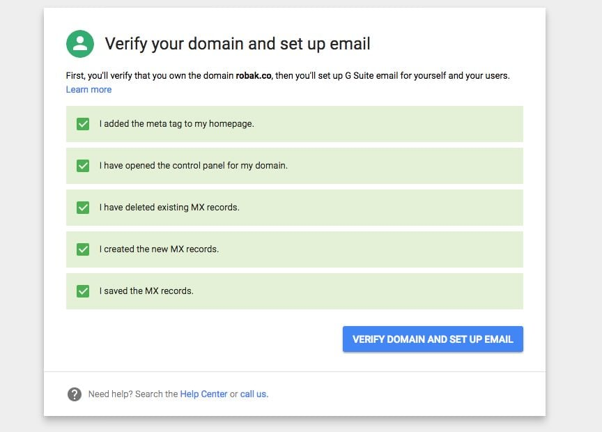 gmail setup custom domain 1 - How and why use Gmail with your own domain?
